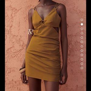 Zara Cut Out Mini Dress